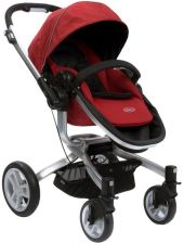 Graco Symbio Magic Red + Fotelik Logico S