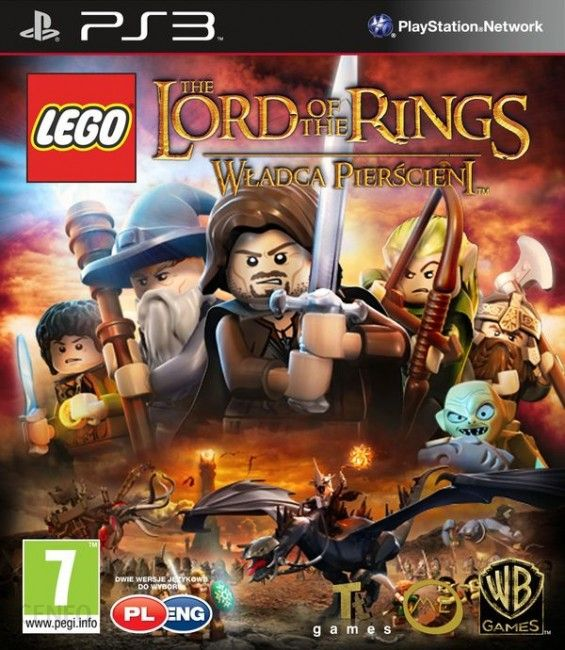 Lego Władca Pierścieni Gra Ps3 Ceneopl