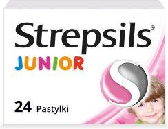 6e71c3df4 Strepsils Junior na ból gardła 24 pastylki - Opinie i ceny na Ceneo.pl