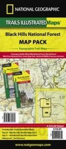 Black Hills National Forest Map Pack: Topographic Trail Maps
