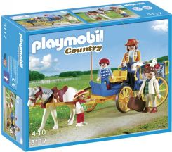 Playmobil Zaprzęg Konny Horse And Buggy 3117