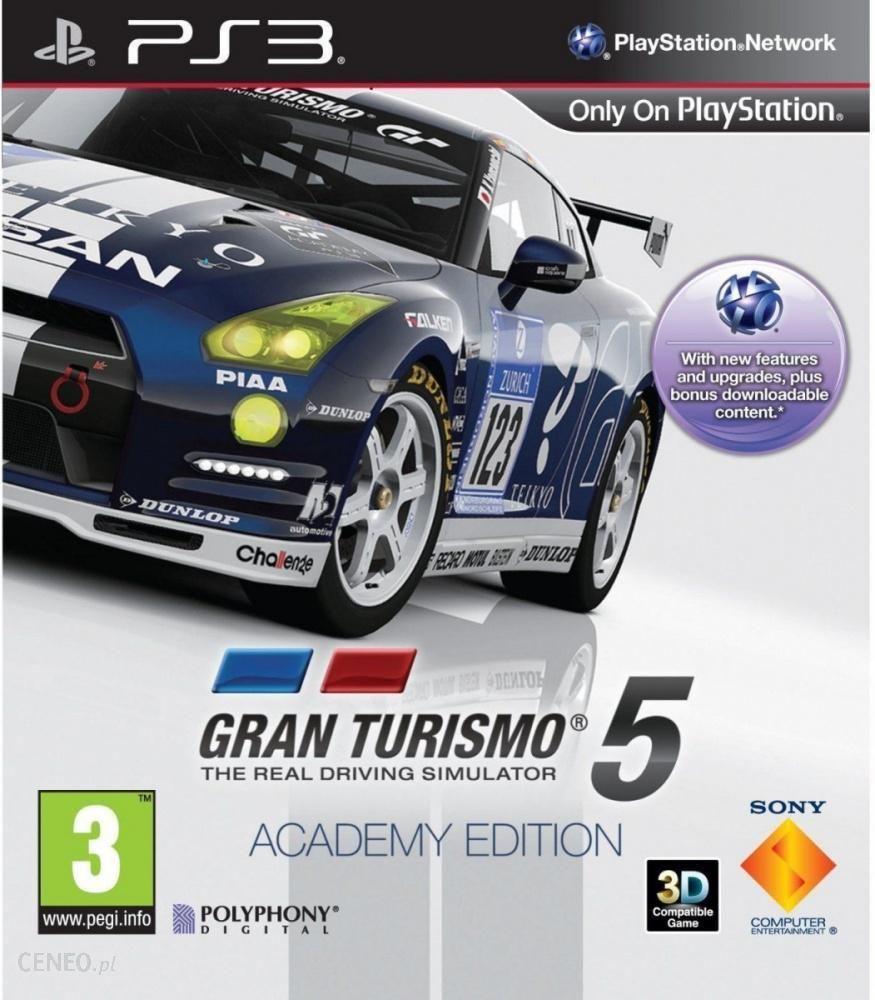 Gran Turismo 5 Academy Edition Gra Ps3 Ceneo Pl