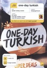 One-Day Turkish. CD and booklet