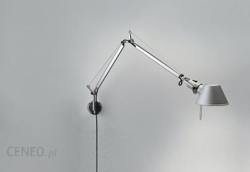Nowoczesnyi elegancki kinkiet lampa dost pna r wnie w wersji sto owej sufitowej i pod ogowej - Artemide tolomeo micro parete ...