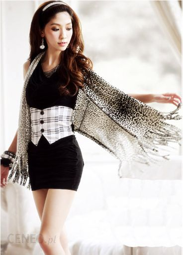 6591a8bcff Japan Style Czarna sukienka damska