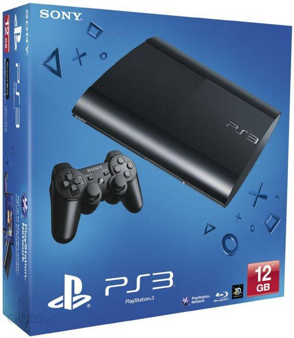 Sony Playstation 3 Super Slim 12gb Ceny I Opinie Ceneo Pl