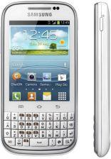 Samsung Galaxy Chat Gt B5330 Bialy Cena Opinie Na Ceneo Pl
