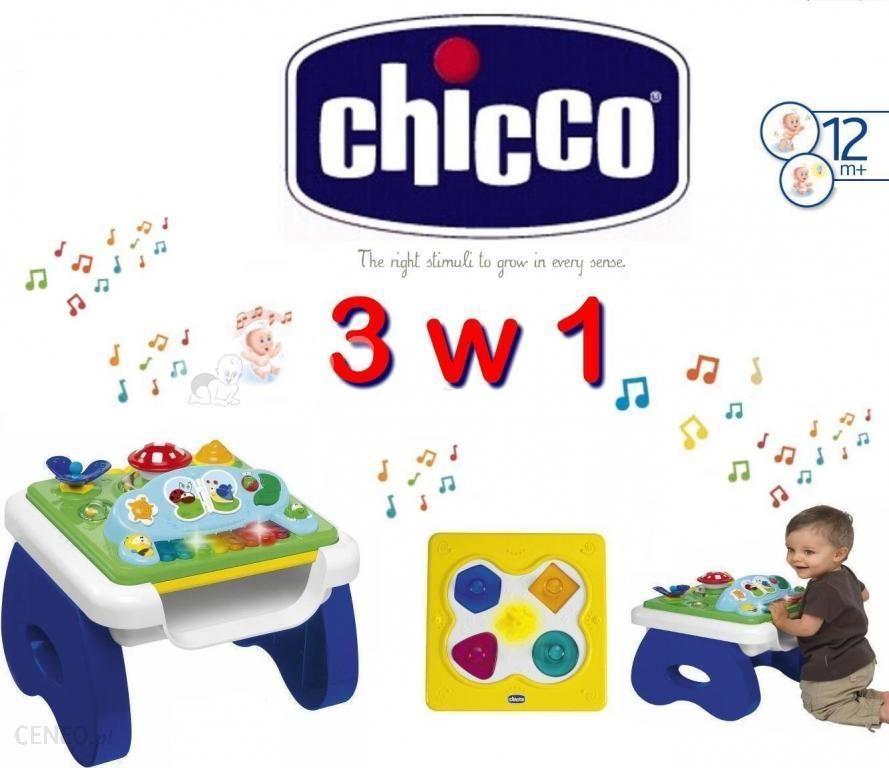 Chicco Edukacyjny Stolik Formy I Muzyka 3w1 Ceny I Opinie Ceneopl