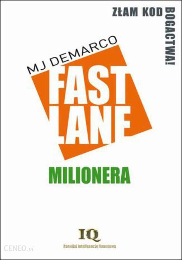 Fastlane milionera - MJ DeMarco (E-book)