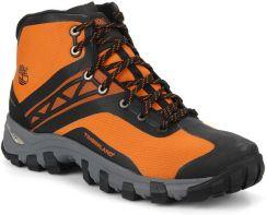 buty timberland pomarańczowe