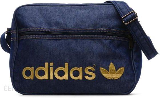 6130a548f3 Adidas Originals TOREBKI MIEJSKIE AIR BAG JEANS BY ADIDAS ORIGINALS  (Niebieski) - zdjęcie 1