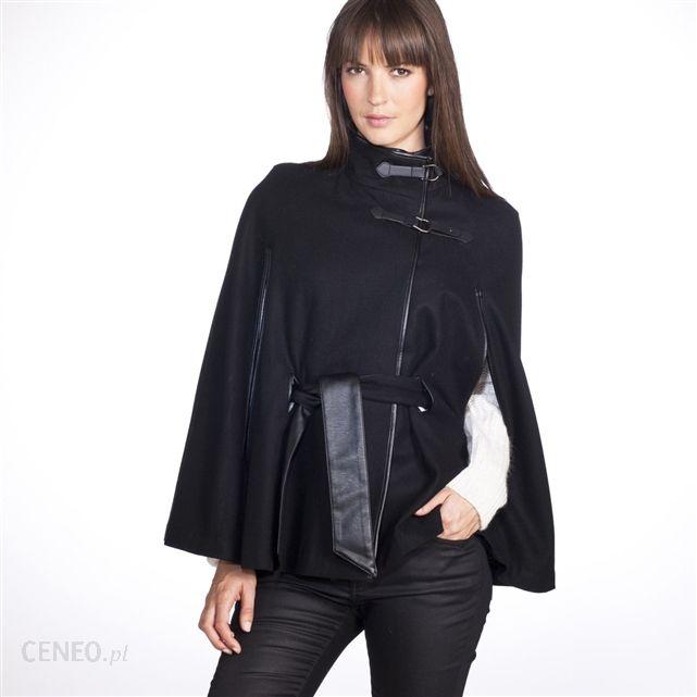 00934800d682 LA REDOUTE CREATION Płaszcz 60% wełny (GD672) BEŻ CAMEL-CZERŃ - Ceny ...