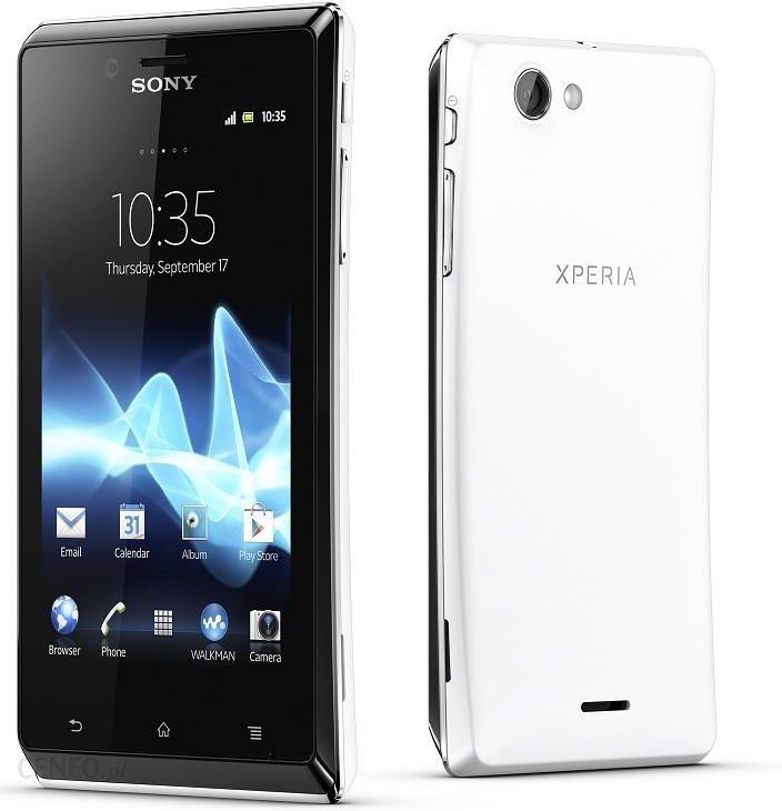 Smartfon Sony Xperia J St26i Bialy Opinie Komentarze O Produkcie 4