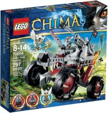 LEGO Legends of Chima Wakz Wolf Tracker 70004