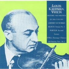 af18dcf429 Louis Kaufman - Bloch  Sonata No. 1 for Violin   Piano