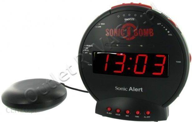 budzik z wibratorem geemarc model sonic bomb daje ci mo liwo pobudki sygna em d wi kowym. Black Bedroom Furniture Sets. Home Design Ideas