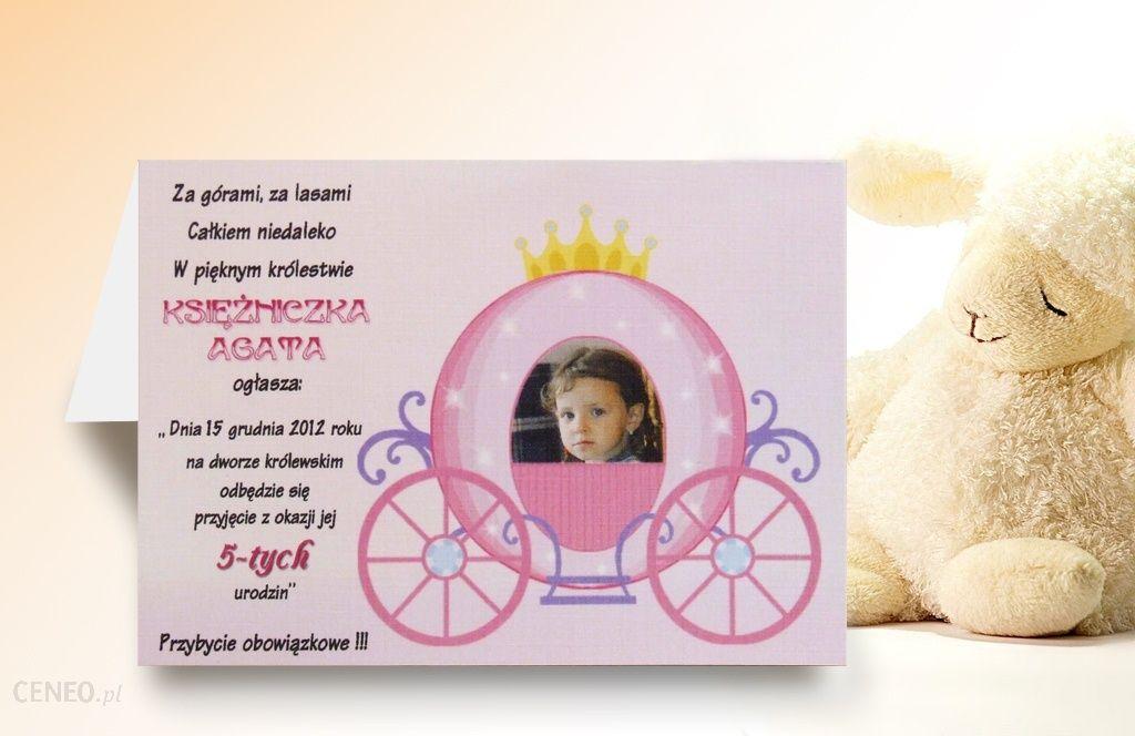 Zaproszenia Na Urodziny Ze Zdjęciem Dziecka 12wzór Ceny I Opinie