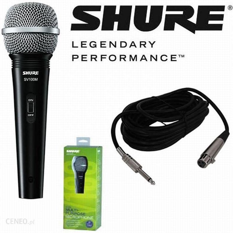 Mikrofon Shure Sv100 A Ceny I Opinie Ceneo Pl
