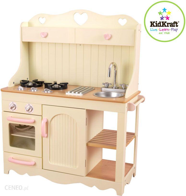 Kidkraft Beżowa Kuchnia Dla Dzieci Drewniana Vintage 53151