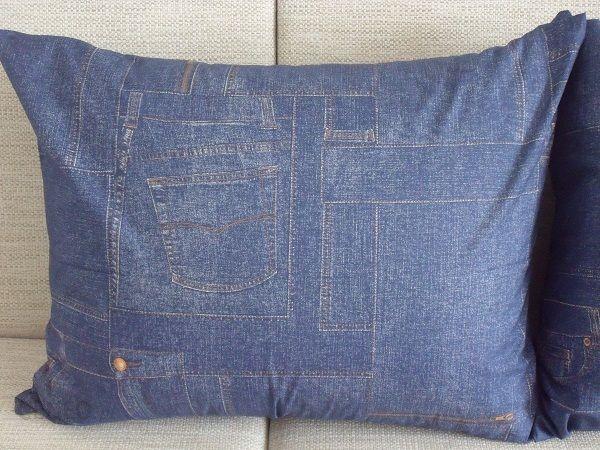 Kim Poszewka Ozdobna 100 Bawełna Jeans 60x75cm Opinie I