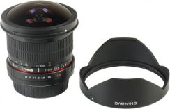 Samyang 8mm f/3.5 Aspherical IF MC Fish-Eye II (Canon)