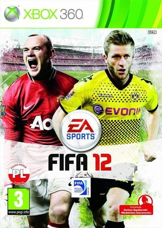 Fifa 12 Gra Xbox 360 Ceneo Pl