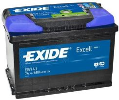Exide EB504 50AH/360A EXCELL (P+)