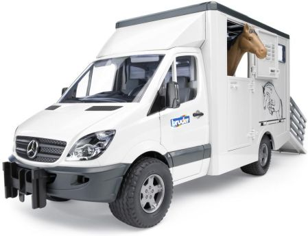 Bruder Pro Series Mercedes Benz Sprinter Do Przwozu Koni 02533