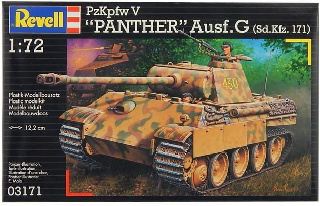 Revell PzKpfw V Panther Ausf. G (MR-3171)
