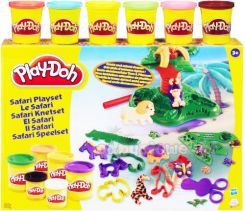 Hasbro Play-Doh Zestaw Safari + 6 Tub 22777