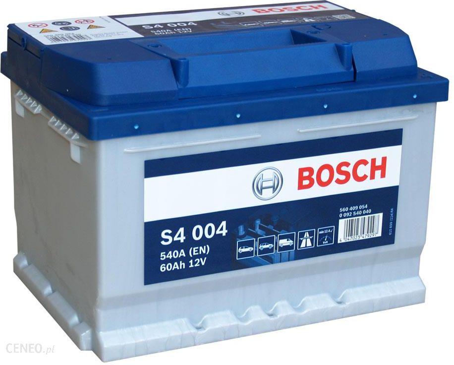 BOSCH S4 004 - 60Ah 540A P+