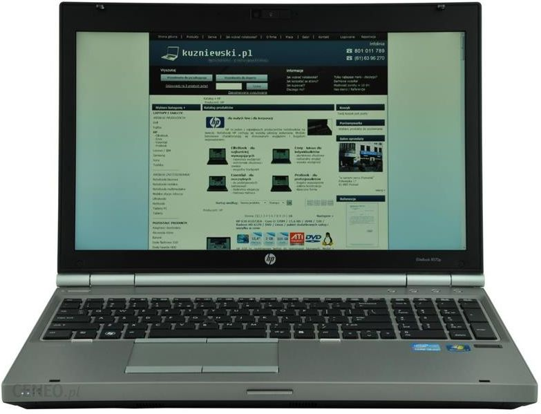 Laptop Hp Elitebook 8570P (B7P51Ea) - Opinie i ceny na Ceneo pl