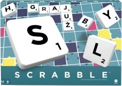 Gra planszowa Mattel Scrabble Original