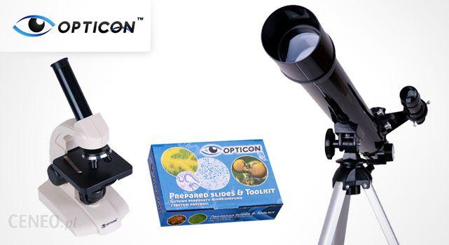 Cała polska od zł za zestaw opticon u teleskop i mikroskop
