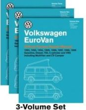Volkswagen Eurovan Official Factory Repair Manual: 1992, 1993, 1994, 1995, 1996, 1997, 1998, 1999: Gasoline, Diesel, Tdi, 5-Cylinder, and Vr6 Includin
