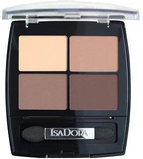 """""""IsaDora"""" akių šešėlių kvarteto akių šešėliai 44 purvini aktai"""