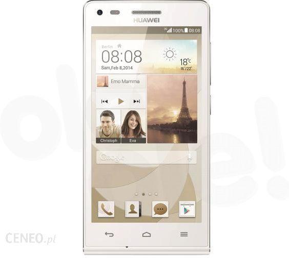 Huawei Ascend G6 Bialy Cena Opinie Na Ceneo Pl