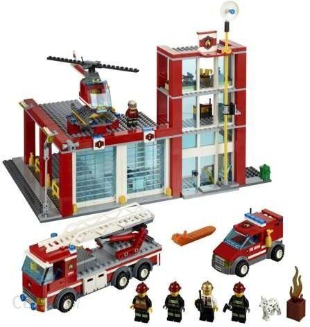 Klocki Lego City Remiza Strażacka 60004 Ceny I Opinie Ceneopl