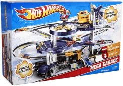 Mattel Hot Wheels Mega Garaż Parking Winda + Autko