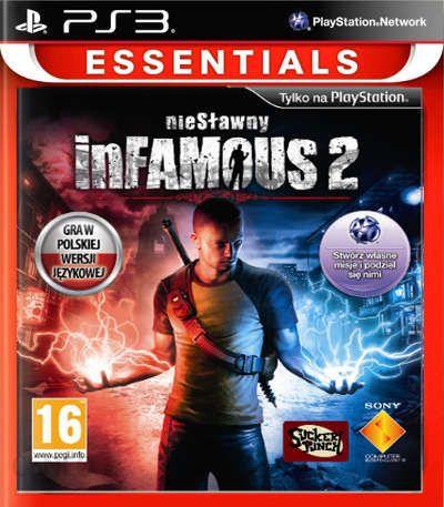 Infamous 2 Essentials Gra Ps3 Ceneo Pl