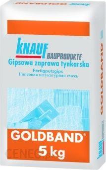 Tynk Knauf Tynk Gipsowy Reczny Goldband 5kg Opinie I Ceny Na Ceneo Pl