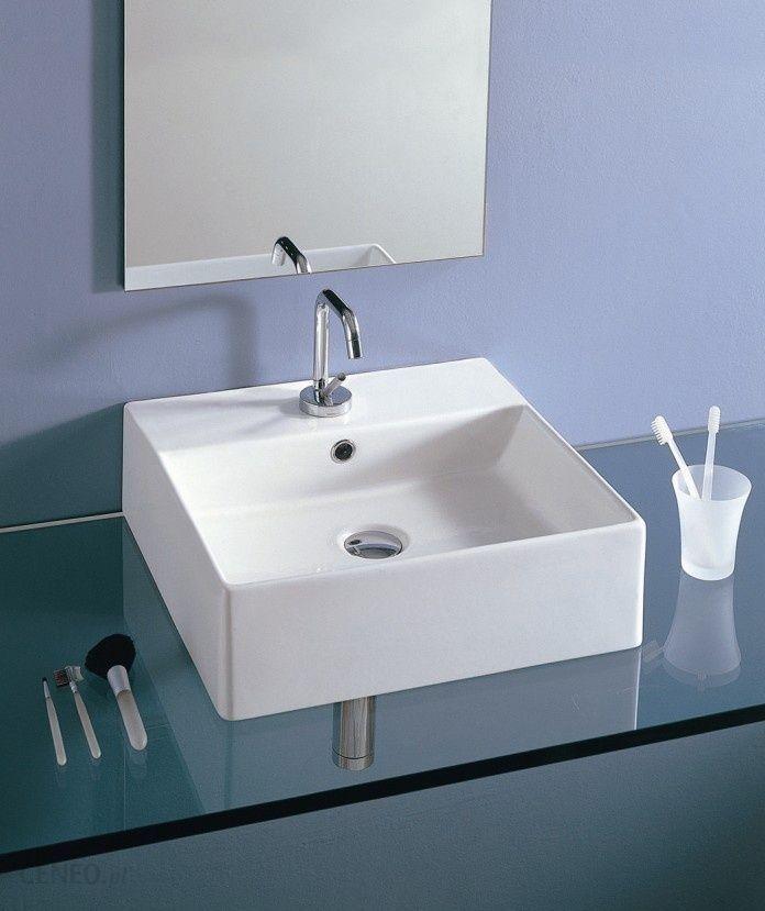 Umywalka althea lavabi d 39 arredo 46x46 30097 opinie i for Lavabi d arredo