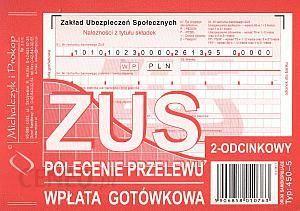 Michalczyk I Prokop 450 5 Polecenie Przelewu Zus 2 Odc Ceny I