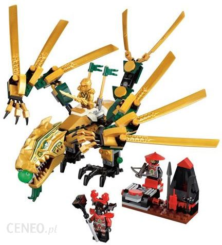Klocki Lego Ninjago Złoty Smok 70503 Ceny I Opinie Ceneopl