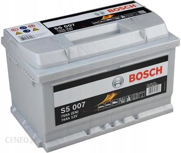 Bosch S5 007 - 74Ah 750A P+