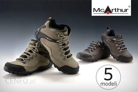 6b852a9e7c31e Od 79 zł: buty trekkingowe McArthur z oddychającą membraną i skórzaną  cholewką – 5 damskich