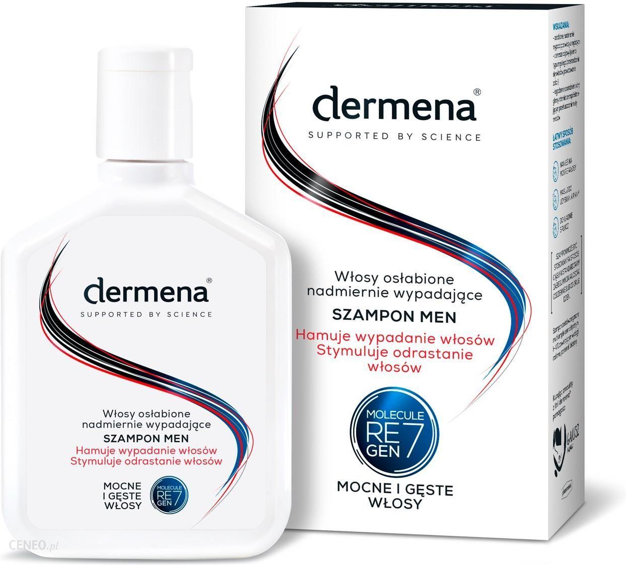 szampon na wypadanie włosów dermena