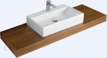 Mocowanie na wspornikach do umywalek memento 5135 for Holzplatte fur waschbecken