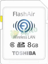 Toshiba SDHC 8GB Class 10FLASH AIR WIFI (118479)