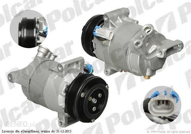 Rewelacyjny Sprężarka klimatyzacji (nowa) 1.6 OPEL ASTRA H 04- - Opinie i ceny DC61